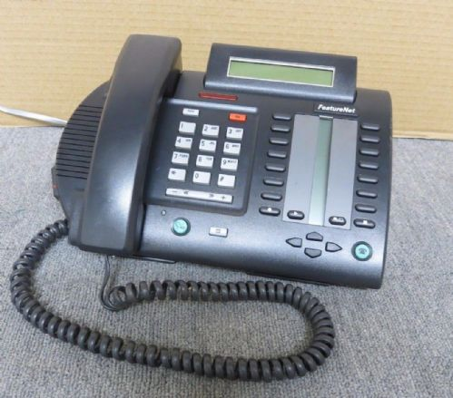 Aastra Telecom A1613-8000-02-00 M6320 Charcoal BT FeatureNet Telephone